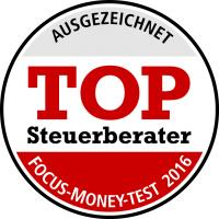 TOP Steuerberater FOCUS-MONEY-TEST 2016